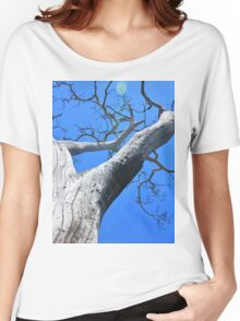 Tree of Light - Nature Background of Age Women's Relaxed Fit T-Shirt