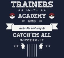 Trainers Academy Kids Tee