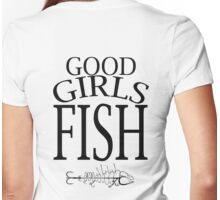 GOOD GIRLS FISH Womens Fitted T-Shirt