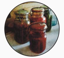 Tomatoes and String Beans in Canning Jars One Piece - Long Sleeve
