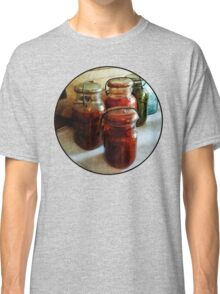 Tomatoes and String Beans in Canning Jars Classic T-Shirt