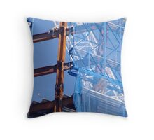 WTC Steel Work Throw Pillow