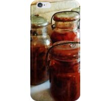 Tomatoes and String Beans in Canning Jars iPhone Case/Skin