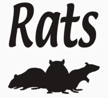 Rats One Piece - Short Sleeve