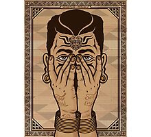 hear no evil see no evil Photographic Print