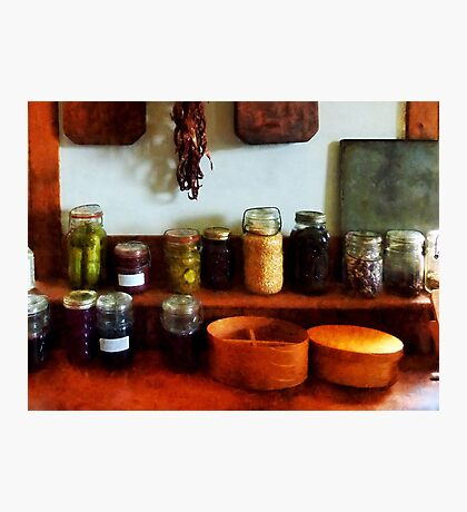 Pickles, Beans and Jellies Photographic Print