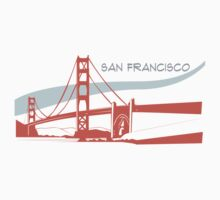 San Francisco -  Golden Gate Bridge by johnsonwaters