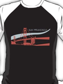 San Francisco -  Golden Gate Bridge T-Shirt