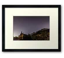 The Old Dairy At Night Framed Print