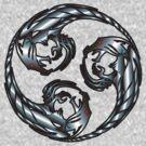 Steel Tri-Dragon Mitsudomoe by Luis Perez
