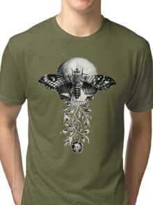 Metamorphosis Design on Black or Dark Color Tri-blend T-Shirt