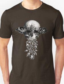 Metamorphosis Design on Black or Dark Color T-Shirt