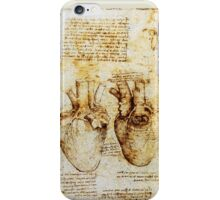 Heart And Its Blood Vessels iPhone Case/Skin