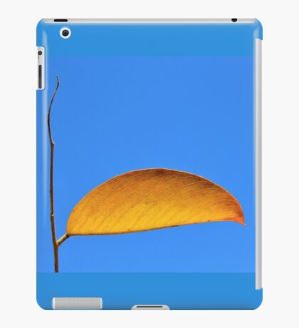Golden Leaf - Simplistic Natural Beauty iPad Case/Skin