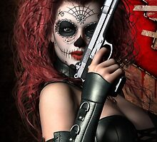 Sugar Doll Long Night of the Dead by Shanina Conway