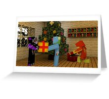 Christmas in the Nether Greeting Card