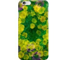 Yellow, Purple and Green Cornucopia iPhone Case/Skin