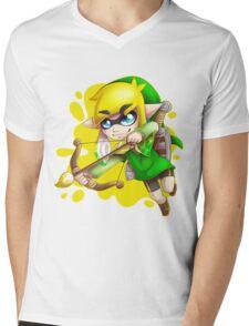 Toon L ink Mens V-Neck T-Shirt