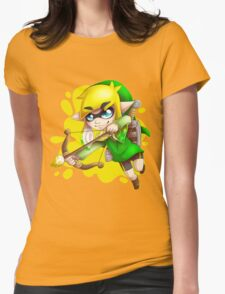 Toon L ink Womens Fitted T-Shirt