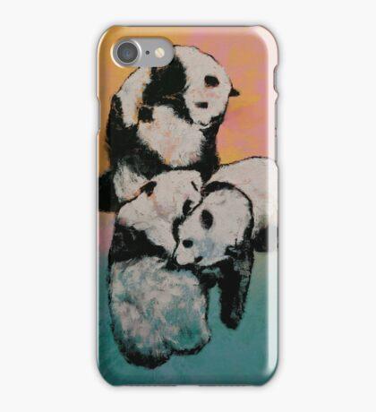 Panda Street Fight iPhone Case/Skin