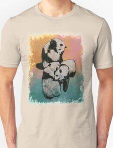 Panda Street Fight Unisex T-Shirt