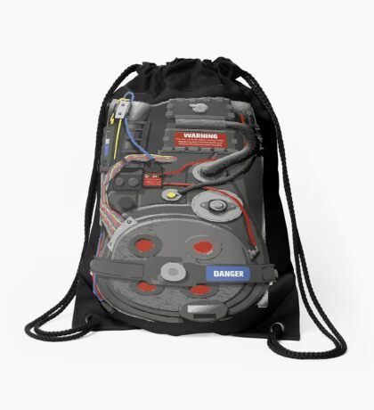 Proton Pack Drawstring Bag