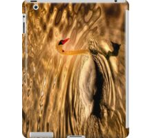 Glowing Swan iPad Case/Skin