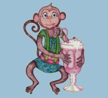 Milkshake Monkey by micklyn