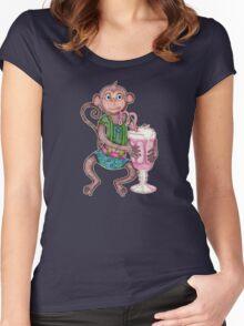 Milkshake Monkey Women's Fitted Scoop T-Shirt