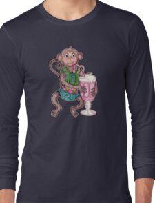 Milkshake Monkey Long Sleeve T-Shirt