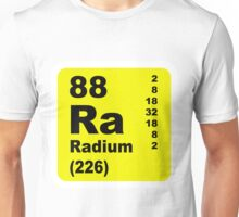 Radium Periodic table of elements Unisex T-Shirt