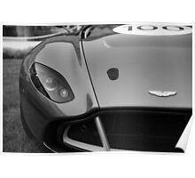 Aston Martin CC100 Poster