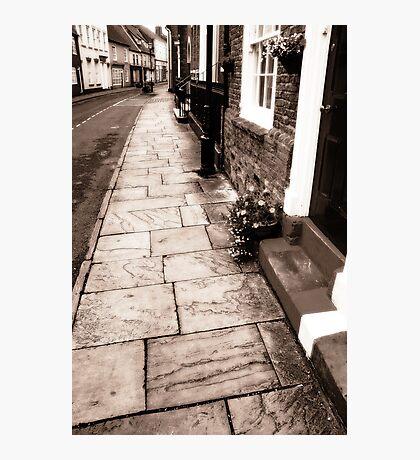 Bridlington old town. Photographic Print