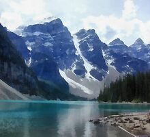 Lake moraine by rok-e