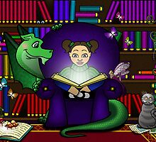 The Magic of Books by Sarah Mokrzycki
