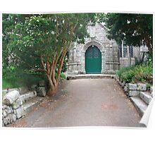 CONSTANTINE CHURCH CORNWALL UK Poster
