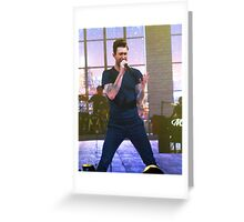 Adam Levine Maroon Five Greeting Card