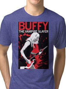 Buffy Rocks Tri-blend T-Shirt