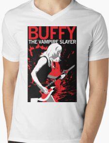 Buffy Rocks Mens V-Neck T-Shirt