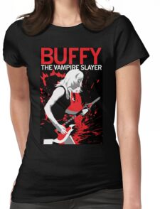 Buffy Rocks Womens Fitted T-Shirt