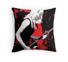Buffy Rocks Throw Pillow