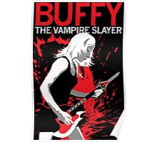Buffy Rocks Poster