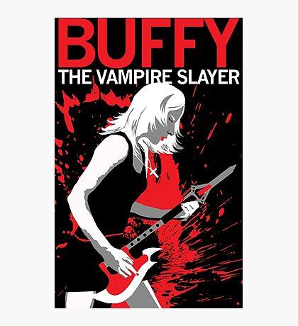 Buffy Rocks Photographic Print