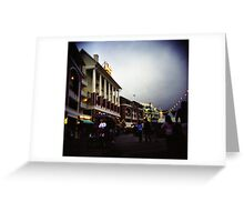 The Happiest Place On Earth-The Disney Boardwalk Greeting Card