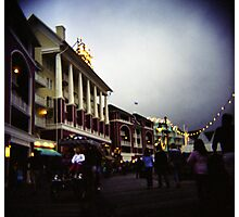 The Happiest Place On Earth-The Disney Boardwalk Photographic Print