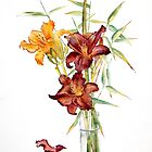 Day Lilies by Ann Mortimer