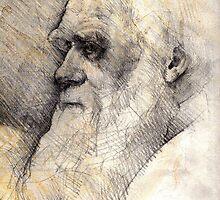 Charles Darwin by Rik Ward