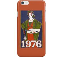 1976 birthday in vintage  iPhone Case/Skin