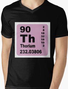 Thorium Periodic table of Elements Mens V-Neck T-Shirt