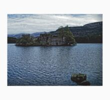 Loch an Eilein Castle Ruin Kids Tee
